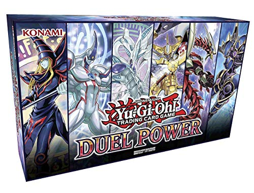 Yu-Gi-Oh! TCG: Duel Power Box Collector's Chest - 6 Rare Cards & Booster Pack from Yu-Gi-Oh! Trading Cards