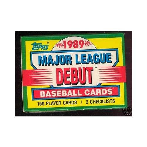 1989 Topps Baseball Debut Complete Box set 1990 Ken Griff...