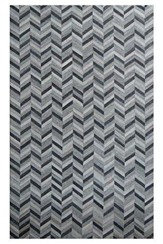 Signature Design by Ashley R400721 Gareth Rug, 8' x 10', Dark Brown/White price