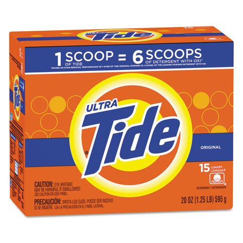 Tide - Ultra Laundry Detergent, Original Scent, 20oz Box 27782CT (DMi CT by Tide