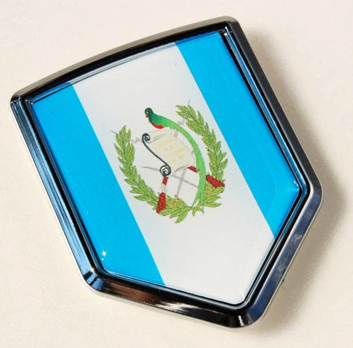 Amazon.com: Guatemala Flag Car Auto Chrome Emblem 3d Decal Sticker: Everything Else