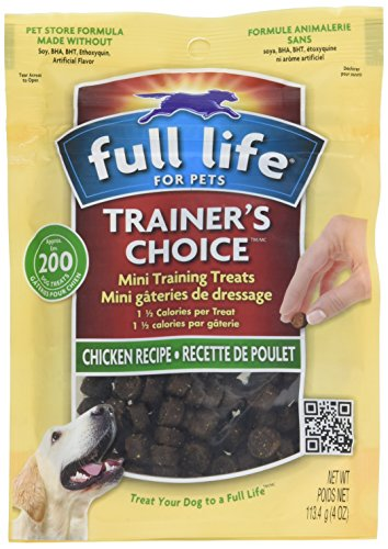 - Full Life For Pets Trainer'S Choice Chicken Treat, 4 Oz