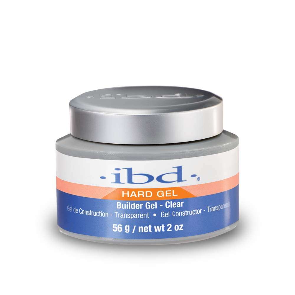 IBD UV Gels, Clear Builder Gel 2 oz by IBD