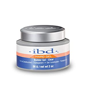 IBD UV Gels, Clear Builder Gel 2 oz