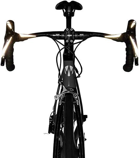 Frame Flash - Pegatinas reflectantes Alta visibilidad para casco y cuadro de bicicleta - Seguridad para bicicletas: Amazon.es: Deportes y aire libre