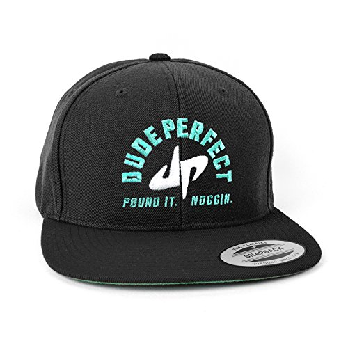 dude-perfect-pound-it-noggin-snapback-black-white-green-one-size