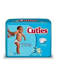 Cuties Jumbo Pack Diaper, Size 3, 144 Count BOBEBE Online Baby Store From New York to Miami and Los Angeles