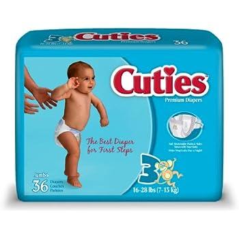 Cuties Diapers