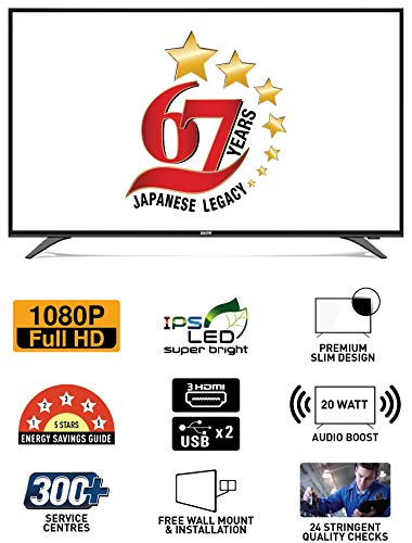 Sanyo 123.2 cm (49 inches) NXT XT-49S7200F Full HD LED TV (Metallic)