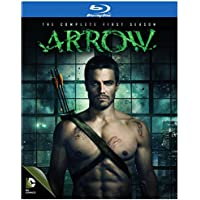 Arrow: The Complete First Season 4 Discs