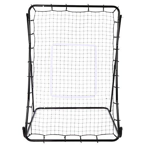 Oguine Multi-sport Baseball Softball Lacrosse Rebounder Pitchback Screen Return Trainer Net,44'' x 64'' Adjustablel Practice Screen by Oguine (Image #3)