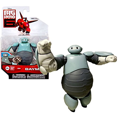 "Bandai Year 2015 Disney ""Big Hero 6"" Movie Series 4-1/2 Inch Tall Action Figure - Prototype Armor BAYMAX"