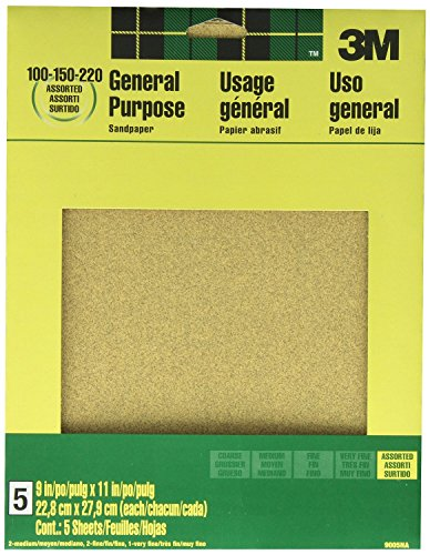 9005NA 11 Inch Aluminum Sandpaper Assorted product image