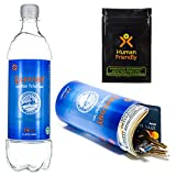 PartyBottle Diversion Safe Bottle Stash Can w/Smell-Proof Stash Bag HumanFriendly - Ultra-Discrete, Authentic Looking BPA-Free Water Bottle Stash Container Includes Sound-Proof Bag