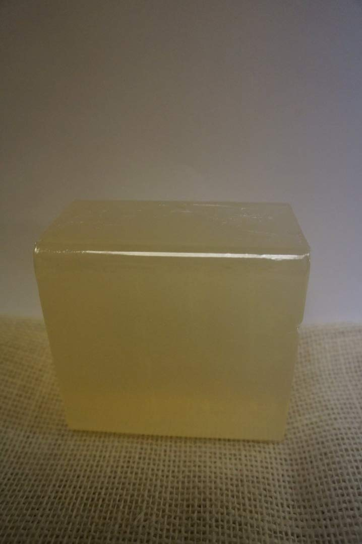 1lb Clear (all natural) Glycerin Melt and Pour Soap Base SFIC