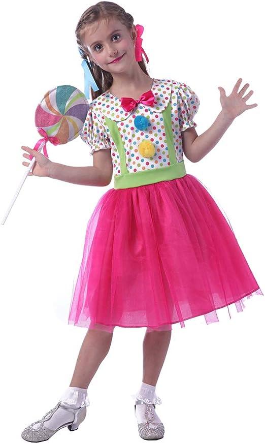 Disfraz de Paleta de Caramelo para niña, para Halloween, Navidad ...