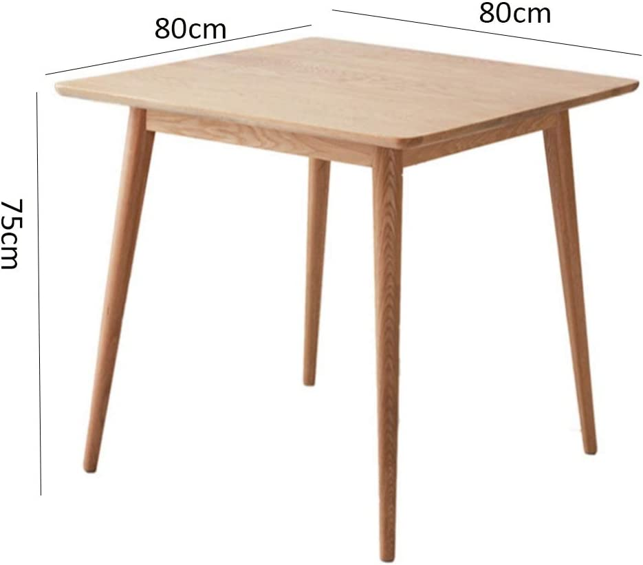 Folding table Nan Mesa de Comedor Extensible Cuadrada de Madera de ...