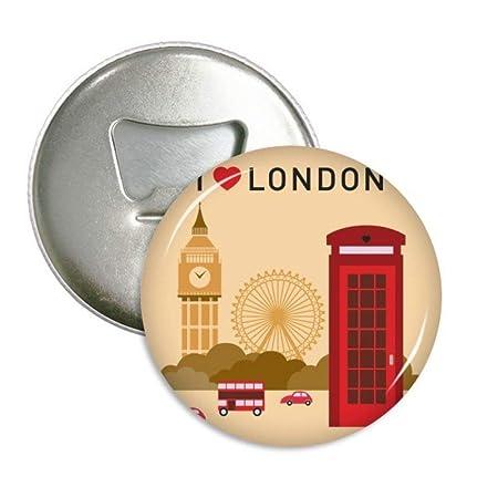 I Love Londres Reino Unido Bandera de oficina de correos Marca ...