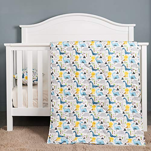 Crib Comforter - UOMNY Baby Blanket - Soft Cot Comforter Crib Baby Quilts for Boys 33