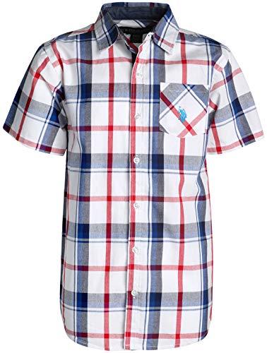 25ed4fe05b35 SHOPUS   U.S. Polo Assn. Boy's Short Sleeve Button Down Shirt 2 ...