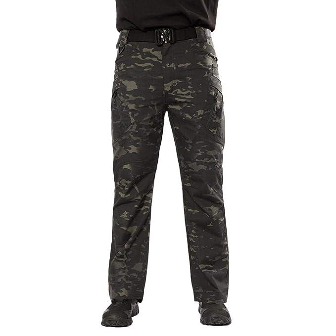 ♚ Pantalones Militares para Hombres d91f8420783