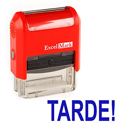 Spanish Teacher Stamp - TARDE!