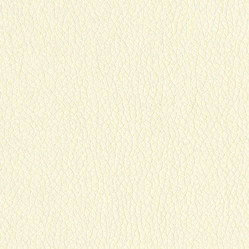 (AbbeyShea Miami Faux Leather Vanilla Fabric by The Yard)