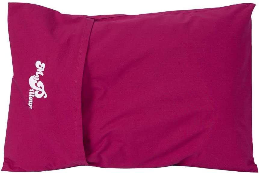 MyPillow Roll & GoAnywhere Pillow (Raspberry)