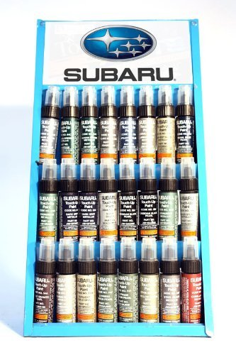 GENUINE SUBARU TOUCH UP PAINT - D4S - CRYSTAL BLACK SILICA