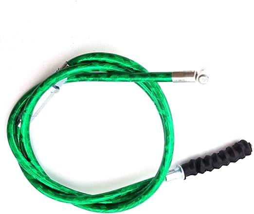 /cable de embrague para motocicleta suciedad pit bike 50/cc 70/cc 90/cc 125/cc 150/cc 160/cc SSR Thumpstar KLX baja GPX CRF XR IMR TTR color verde/ stoneder 970/mm