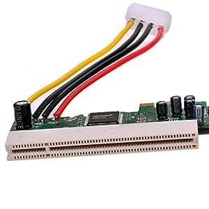 xiaok Song® PCI-E a PCI Express x1 32 Bit convertidor