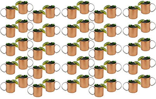 Case Of 50 - Copper Mug For Moscow Mules 12 Oz Copper-Clad Stainless Novelty Cup by Travel Mugs