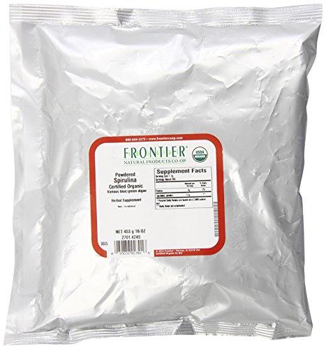 Frontier Spirulina Powder Organic, 1 Pound For Sale