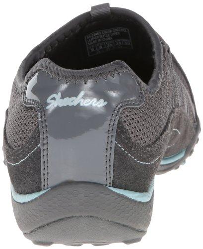 Skechers Sport Frauen Entspannung Mode Sneaker Holzkohle