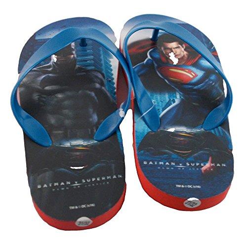 INFRADITO BATMAN VS SUPERMAN WARNER BROSS CIABATTE MARE DAL 31 AL 38 - WA16002