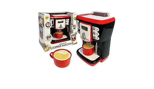 Tiktaktoo Máquina de Café para Niños Máquina de Espresso Cafetera con Luz & Sonido Accesorio Cocinita Juguete: Amazon.es: Juguetes y juegos