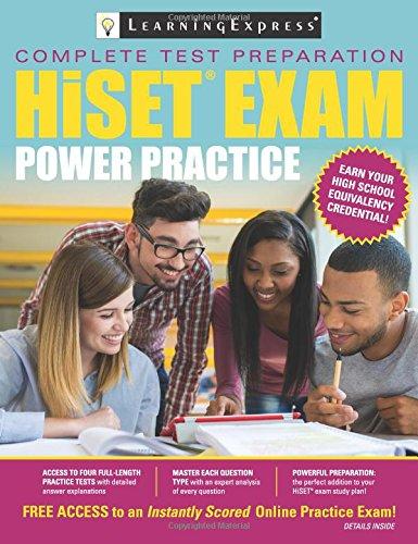 Complete Test Preparation HISET Exam Power Practice