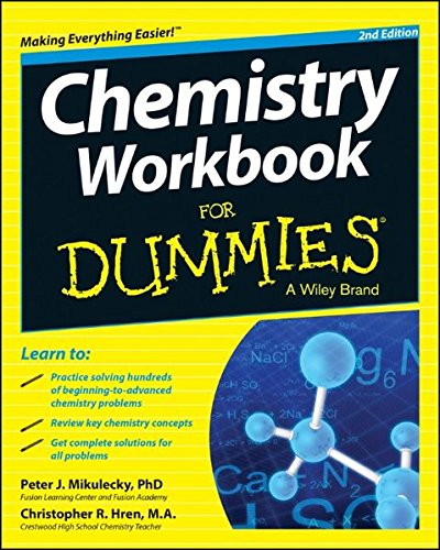 Chemistry Workbook For Dummies (For Dummies Series)