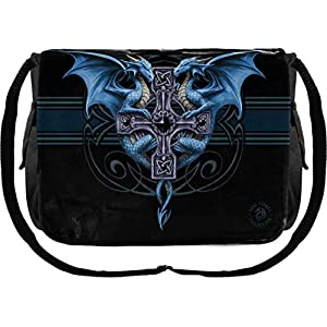 Dragon Duo Anne Stokes Messenger Bag 33cm Black,
