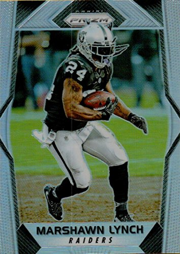 Football NFL 2017 Prizm Prizm #84 Marshawn Lynch Raiders by