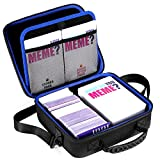 DACCKIT What Do You Meme Game Cards Case by fit for Basic and All Expansion Packs Party Game Cards