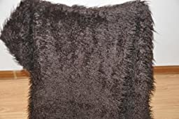 Newborn Baby photography photo props Faux wool Basket Stuffer blanket rug brown