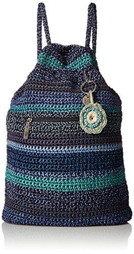 - The Sak Amberly Crochet Backpack, Neptune Stripe