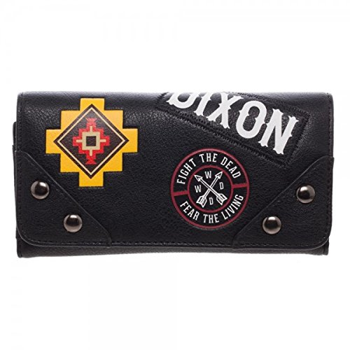 Patch Flap Purse - Walking Dead The Daryl Patches JRS. Flap Wallet