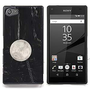 Stuss Case / Funda Carcasa protectora - Luna Escalera Metáfora Noche Llegar - Sony Xperia Z5 Compact Z5 Mini (Not for Normal Z5)