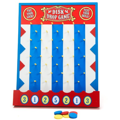 Wooden Disk Drop Game(Discontinued by manufacturer) -
