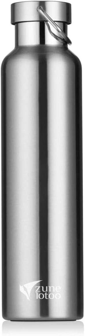 Zune Lotoo Stainless Steel Metal Water Bottle 26oz