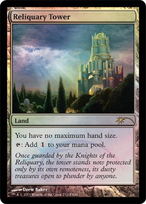 Magic: the Gathering - Reliquary Tower - FNM 2013 (2) - FNM Promos - Foil