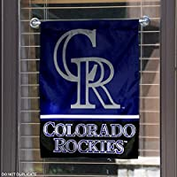 Colorado Rockies Double Sided Garden Flag