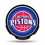 NBA Detroit Pistons Backlit LED Motion Sensing Powerdecal by Rico